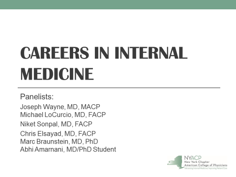 Medical Students - New York Chapter of the American College of